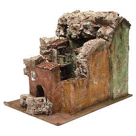 Borough Vicolo Quarto for 10 cm nativity 30x30x40 cm s6