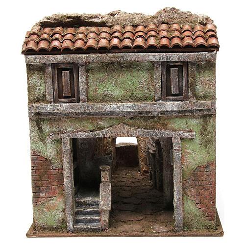Borough Vicolo Quarto for 10 cm nativity 30x30x40 cm 1