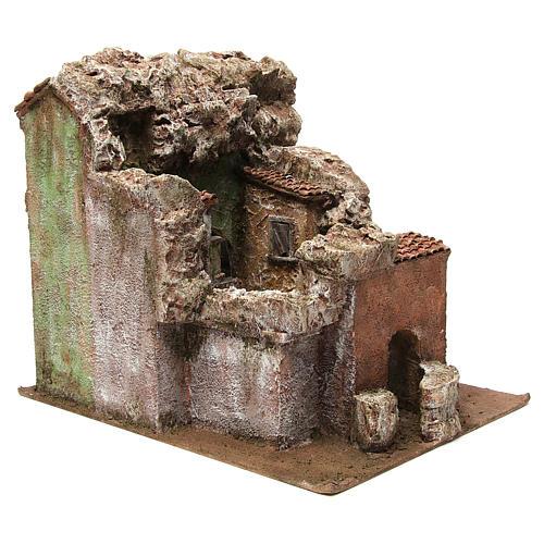 Borough Vicolo Quarto for 10 cm nativity 30x30x40 cm 7