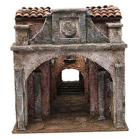 Borgo Vicolo Lungo per presepe 10 cm 30x30x40 cm s1