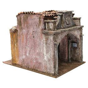 Borgo Vicolo Lungo per presepe 10 cm 30x30x40 cm s3