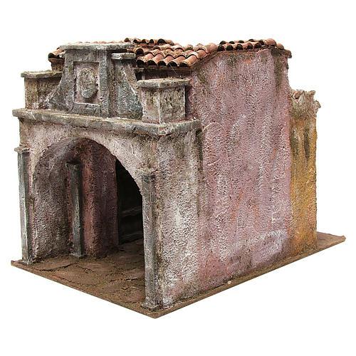 Borgo Vicolo Lungo per presepe 10 cm 30x30x40 cm 2