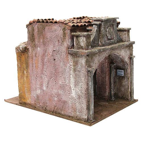 Borgo Vicolo Lungo per presepe 10 cm 30x30x40 cm 3