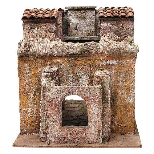 Borgo Vicolo Lungo per presepe 10 cm 30x30x40 cm 5