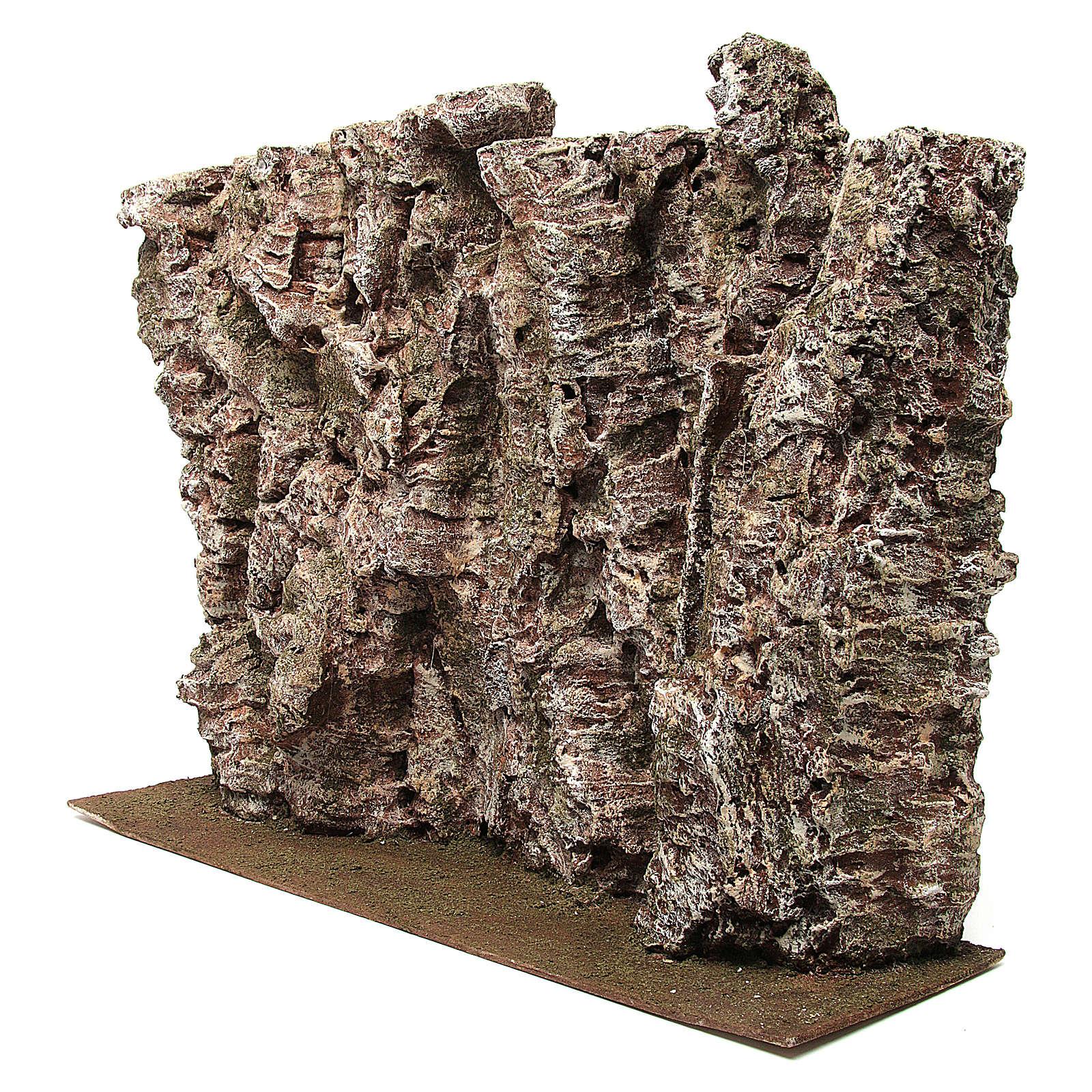 Montagna per presepe 30x15x50 cm 4