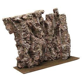 Montagna per presepe 30x15x50 cm s3