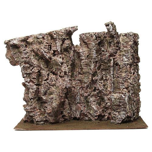 Montagna per presepe 30x15x50 cm 1