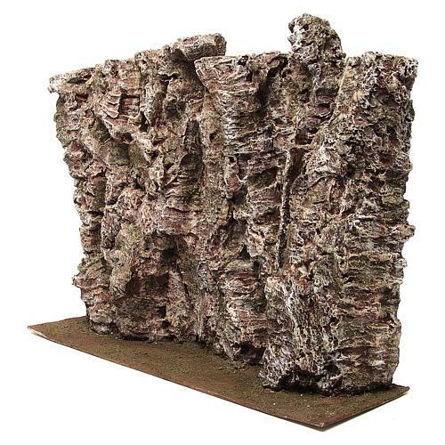 Montagna per presepe 30x15x50 cm 2