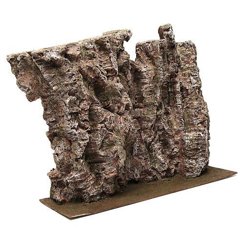 Montagna per presepe 30x15x50 cm 3
