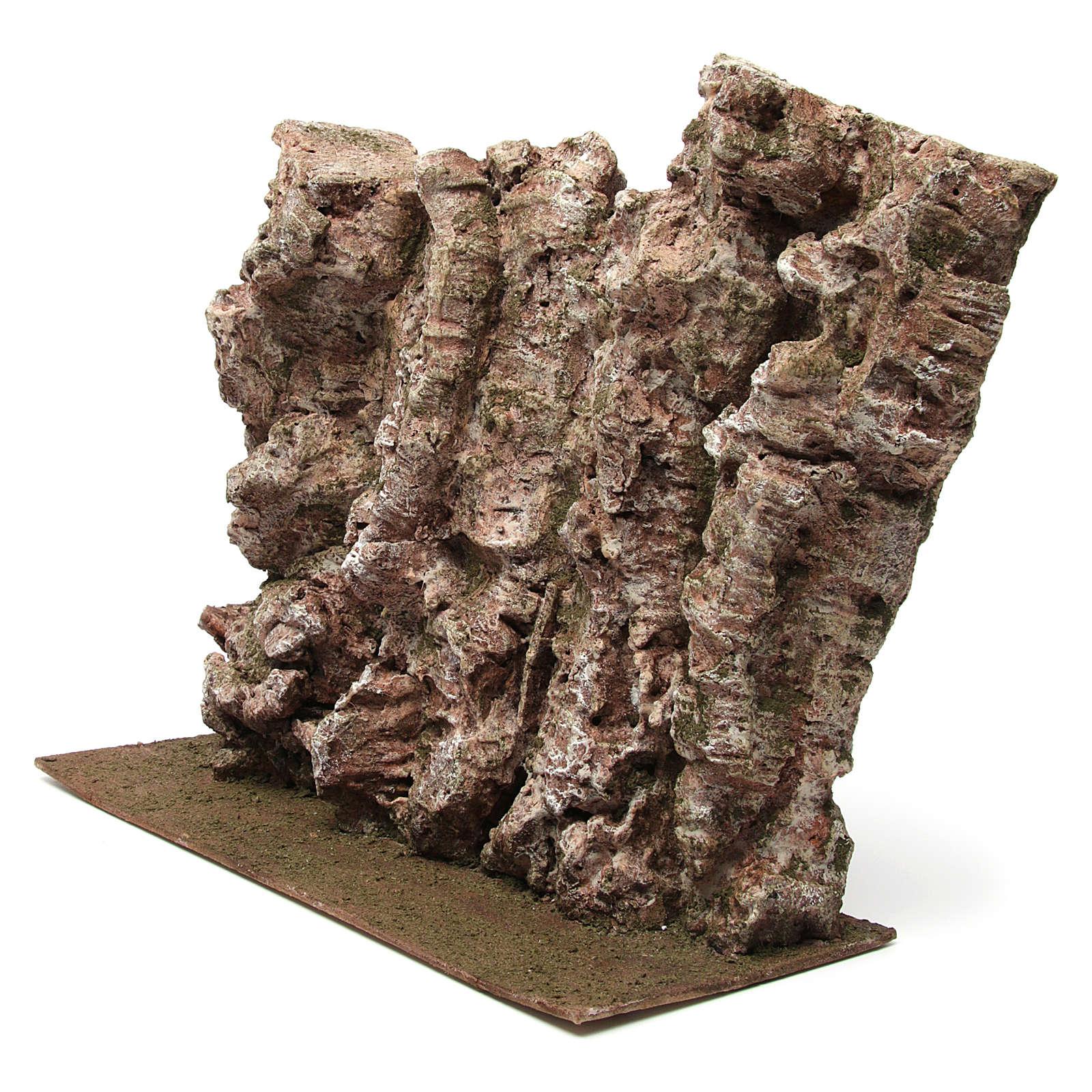 Montagna per presepe 40x15x25 cm 4