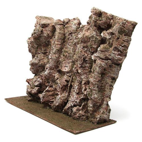 Montagna per presepe 40x15x25 cm 2