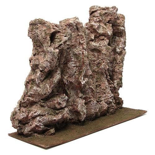 Montagna per presepe 40x15x25 cm 3