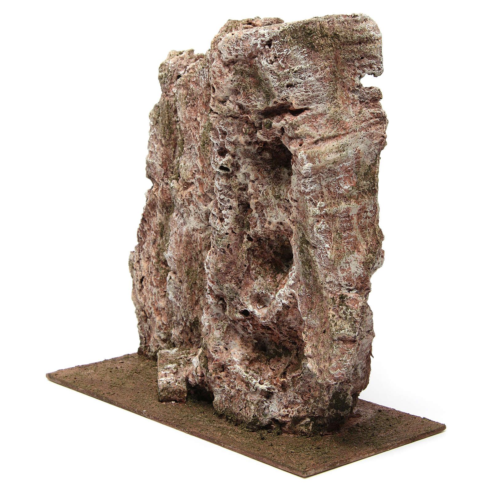 Montagna per presepe 30x15x15 cm 4