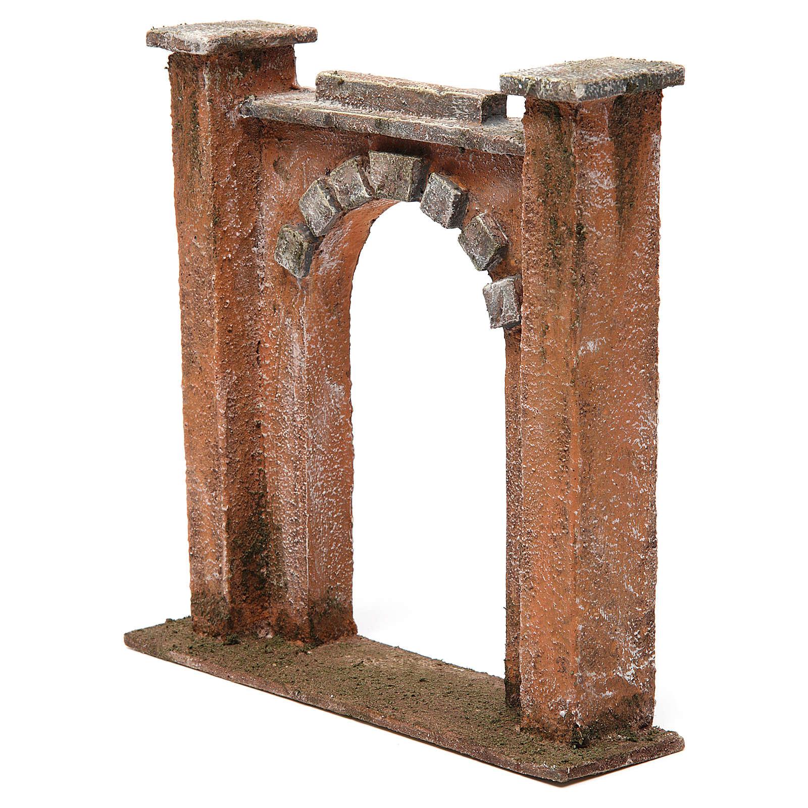 Arco per presepe 12 cm 20x5x20 cm 4
