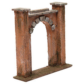 Arch for Nativity 12cm 20x5x20 cm s3