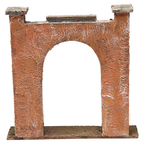 Arch for Nativity 12cm 20x5x20 cm 4