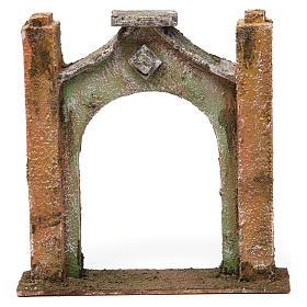 Arco inflesso per presepe 10 cm 15x5x15 cm s1