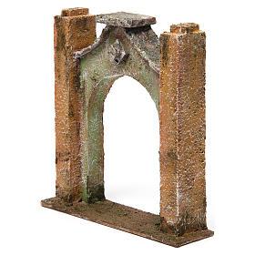 Arco inflesso per presepe 10 cm 15x5x15 cm s2