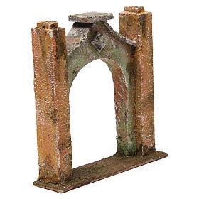 Arco inflesso per presepe 10 cm 15x5x15 cm s3