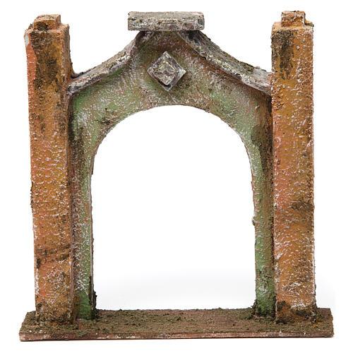 Arco inflesso per presepe 10 cm 15x5x15 cm 1