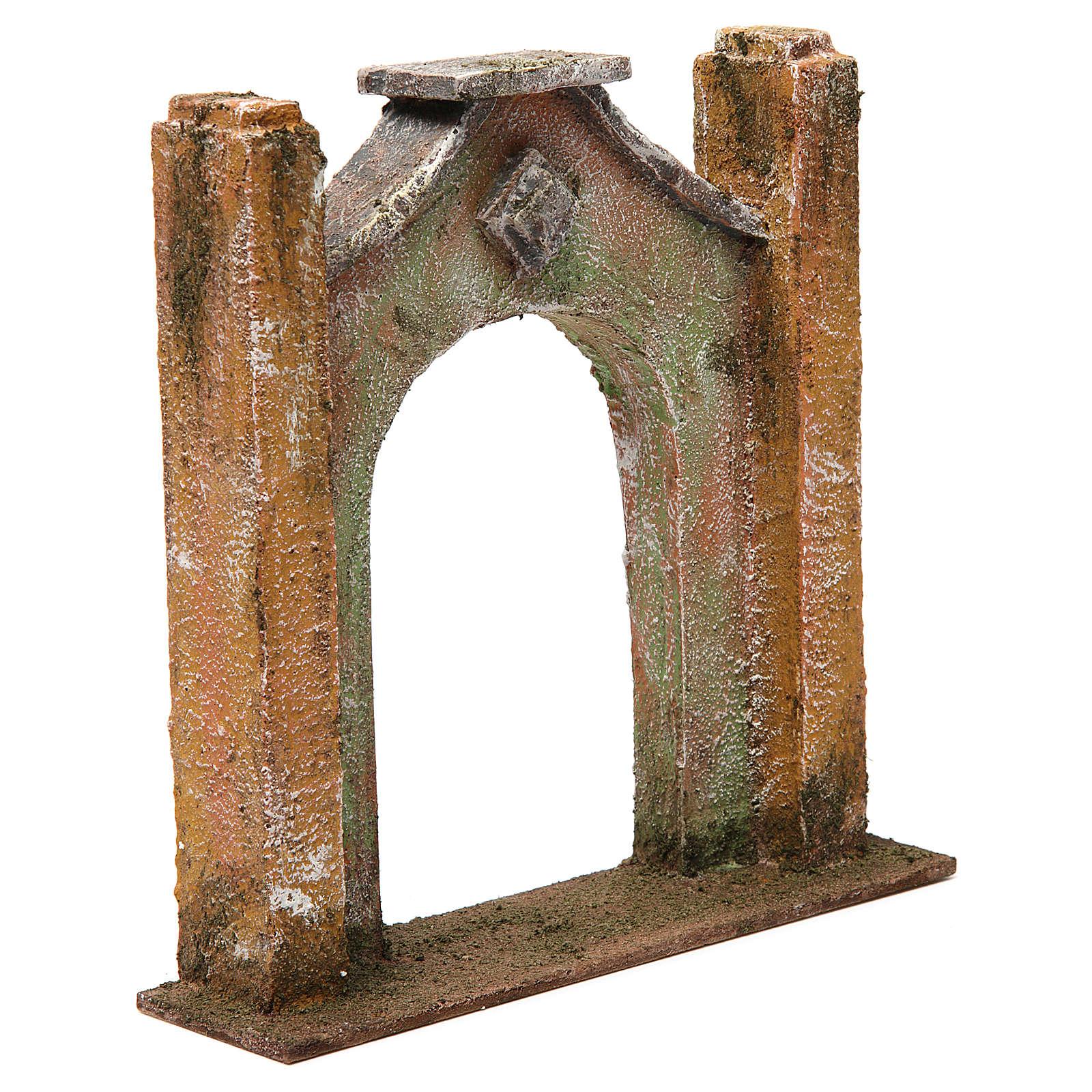 Arc décoré pour crèche 12 cm 20x5x20 cm 4