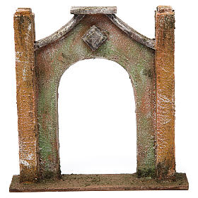 Arc décoré pour crèche 12 cm 20x5x20 cm s1