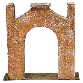 Arc décoré pour crèche 12 cm 20x5x20 cm s4
