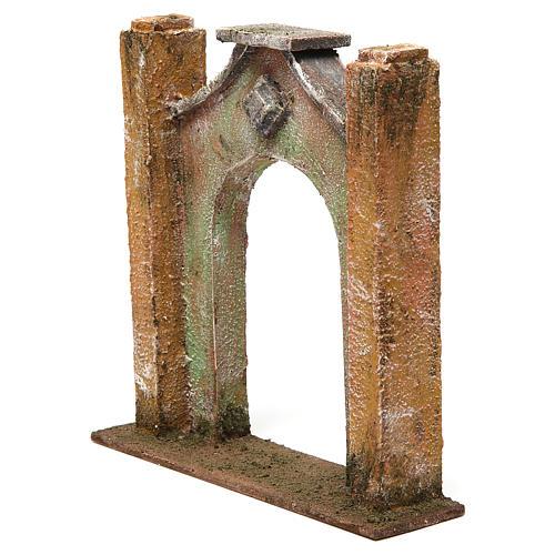 Arc décoré pour crèche 12 cm 20x5x20 cm 2