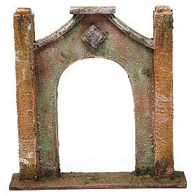 Arco inflesso per presepe 12 cm 20x5x20 cm s1