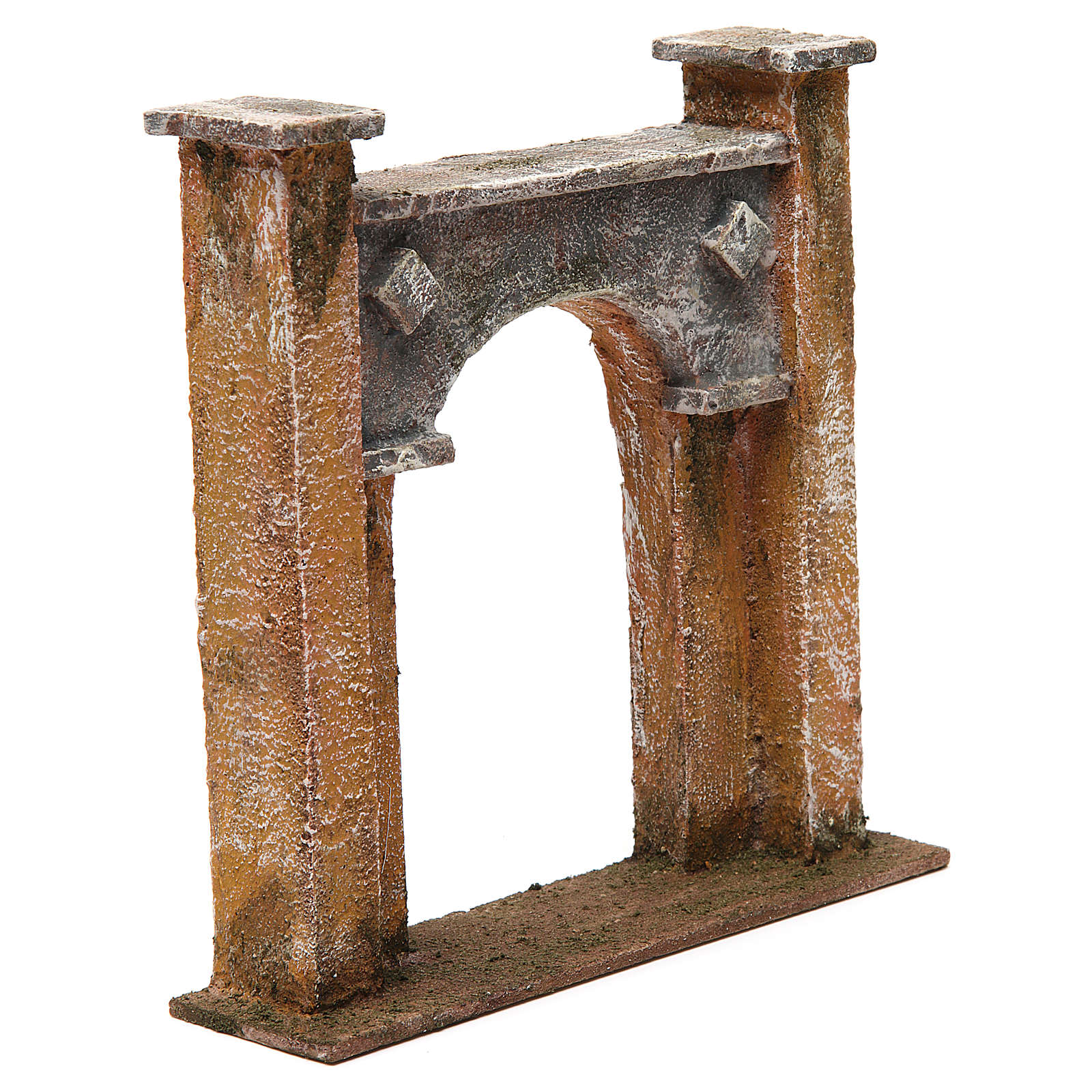 City gate arch for nativity 12 cm 20x5x20 cm 4