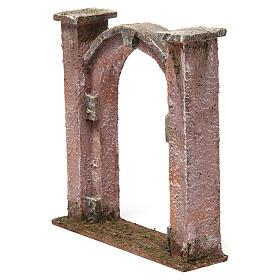 Arco porta per presepe 10 cm 15x5x15 cm s2