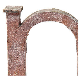 Arco porta per presepe 10 cm 15x5x15 cm s4