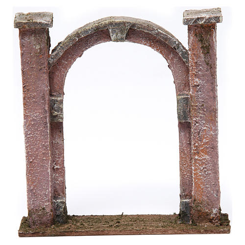 Arco porta per presepe 10 cm 15x5x15 cm 1