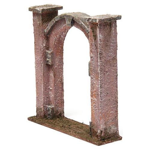 Arco porta per presepe 10 cm 15x5x15 cm 2