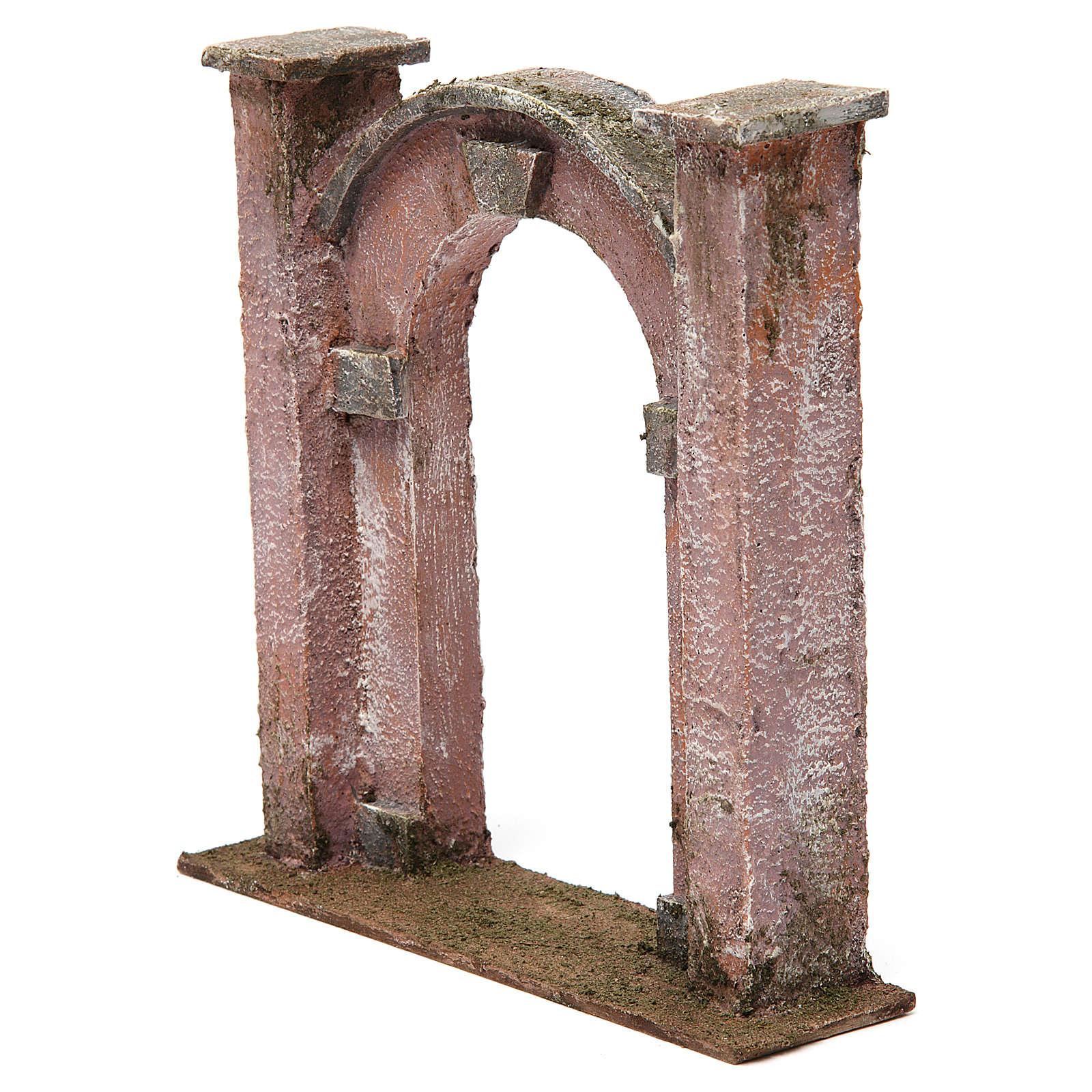 Arco porta per presepe 12 cm 20x5x20 cm 4