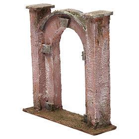 Arco porta per presepe 12 cm 20x5x20 cm s2