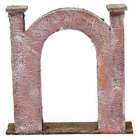 Arco porta per presepe 12 cm 20x5x20 cm s4