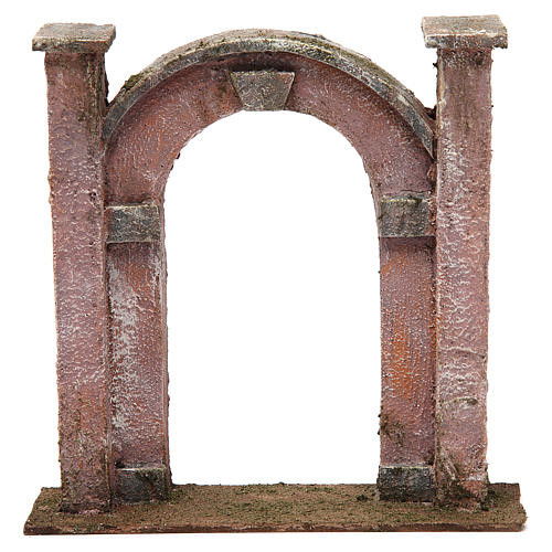 Arco porta per presepe 12 cm 20x5x20 cm 1