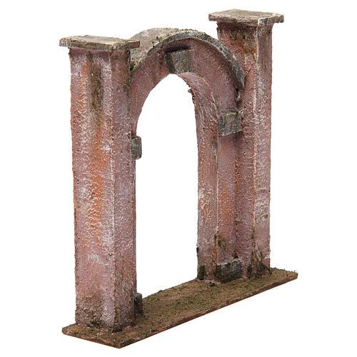 Arco porta per presepe 12 cm 20x5x20 cm 3