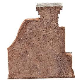 Colonna muro per presepe 10 cm 20x15x5 cm s4