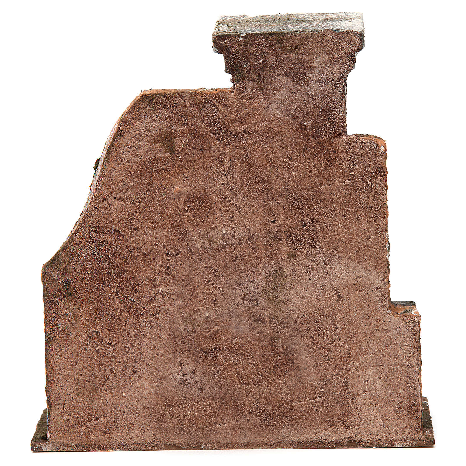 Colonna muro per presepe 12 cm 20x20x5 cm 4