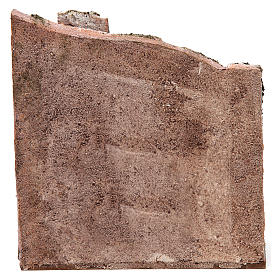 Muro per presepe 10 cm 20x15x5 cm s4