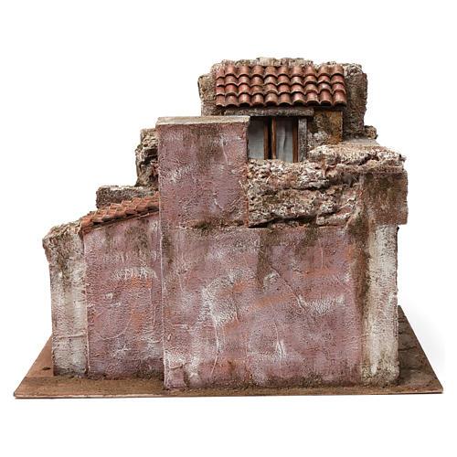 Aldea Callejón Corto para belén 12 cm de altura media 30x35x45 cm 2