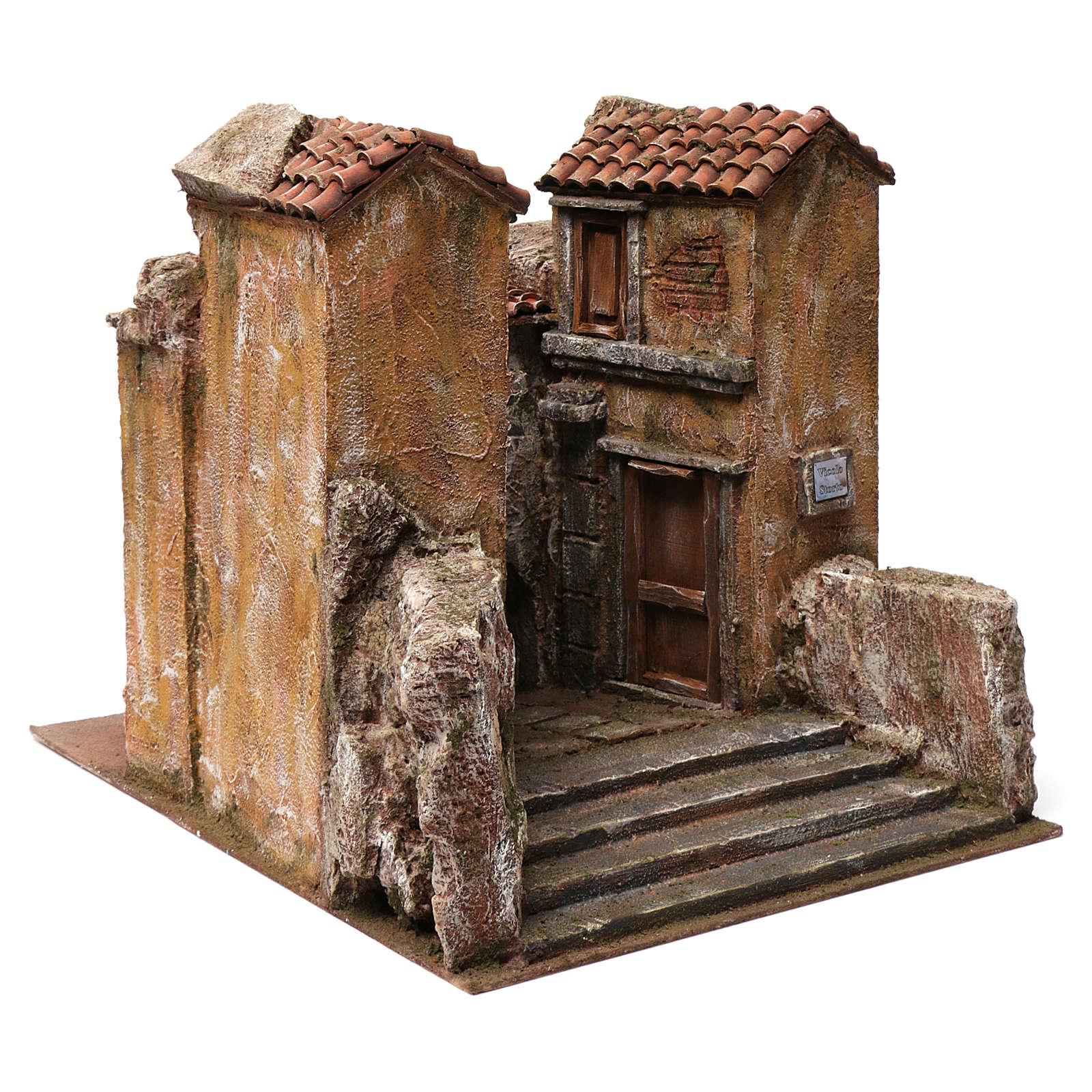 Vicolo Storto alley setting for 12 cm nativity scene 4