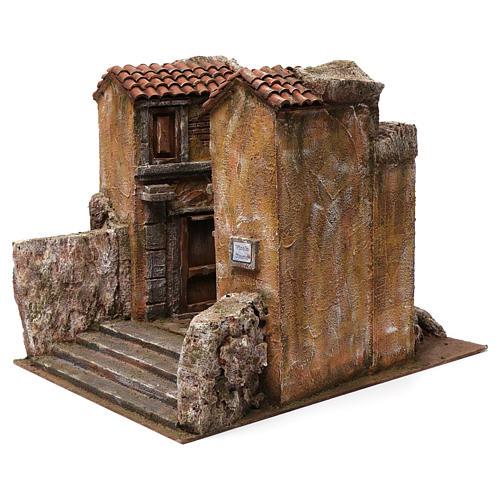 Village Vicolo storto for 12 cm nativity 30X35X45 cm 2