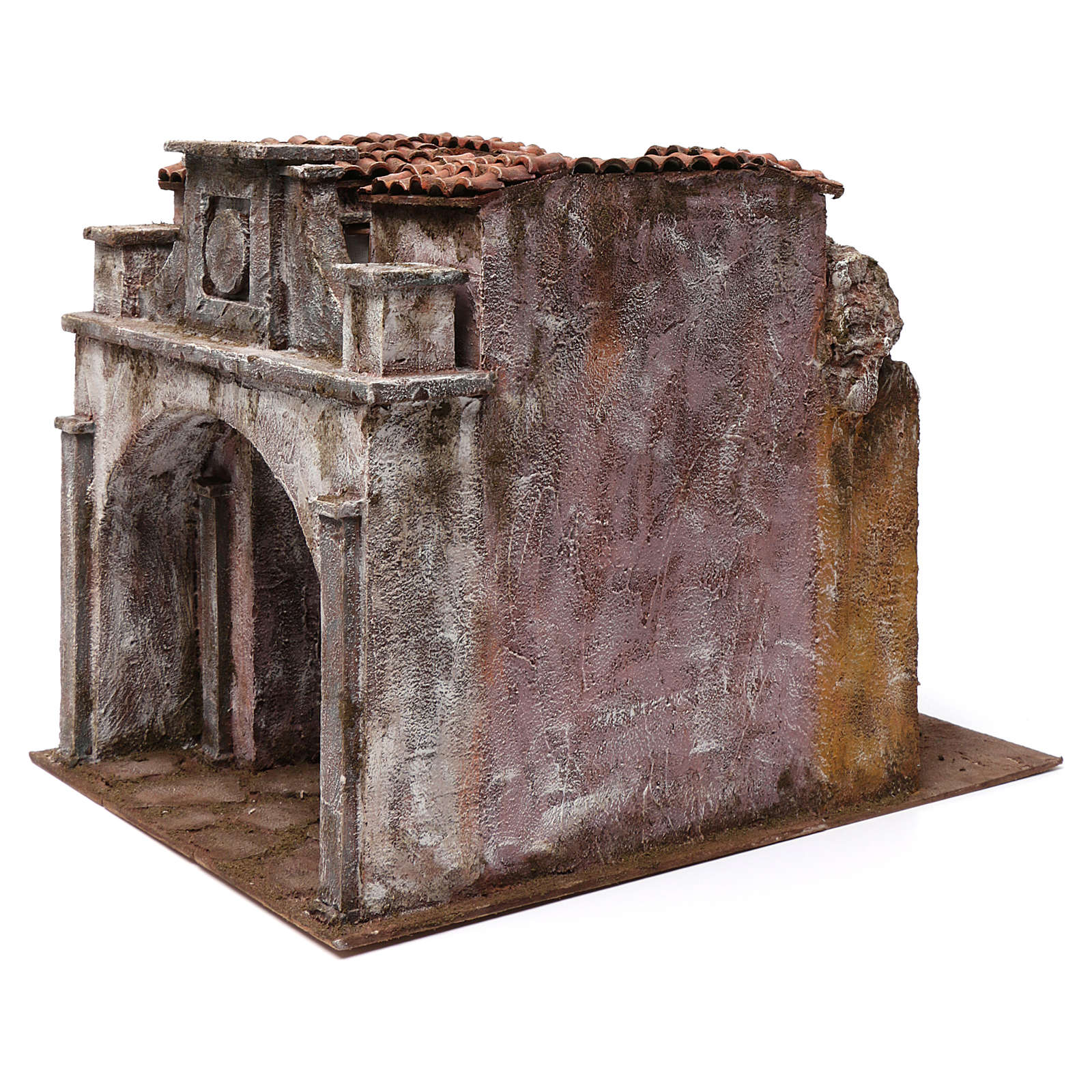 Vicolo Lungo alley setting for 12 cm nativity scene 4