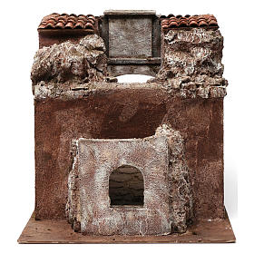 Vicolo Lungo alley setting for 12 cm nativity scene s4