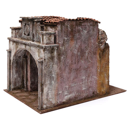 Vicolo Lungo alley setting for 12 cm nativity scene 2