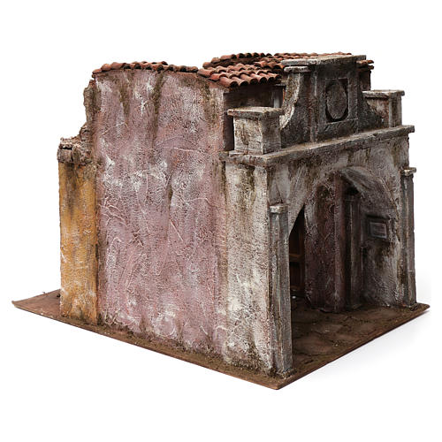 Vicolo Lungo alley setting for 12 cm nativity scene 3