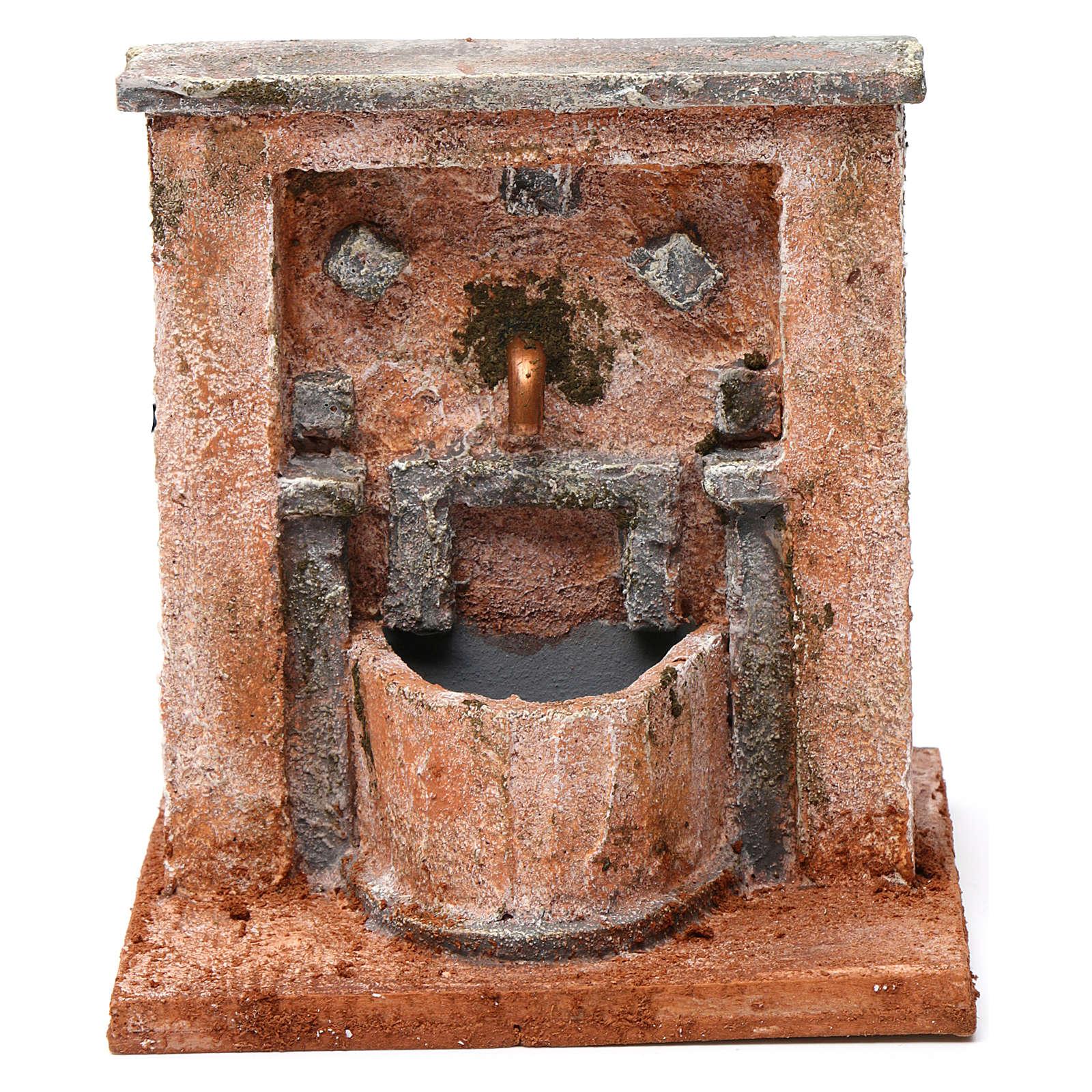 Fontana per presepe 20X15X15  cm stile palestinese 4